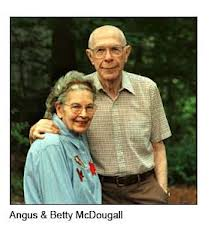 photo of Angus and Betty McDougall