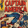 Cover from Captain America, 1968