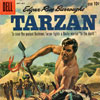 Cover from a comic book edition of Edgar Rice Burrough's Tarzan,  1960