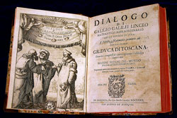 First edition of Galileo's Dialogo sopra i due massimi sistemi del mondo (Florence, 1632)