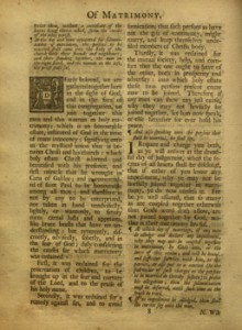Book of Common Prayer, 1739