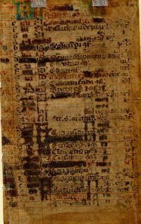 Well loved 14th-century Irish calendar