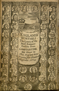England's Worthies by Will Winstanley, 1684, RARE D A 28 W7