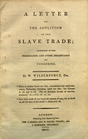 abolition of slavery 1833 essay