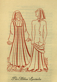 Illustration from Tales from Boccaccio, New York, 1947