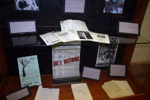 Lanford Wilson display
