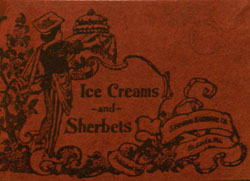 Ice Cream and Sherbets cover