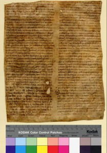 De orthographia by Bede, 9th century