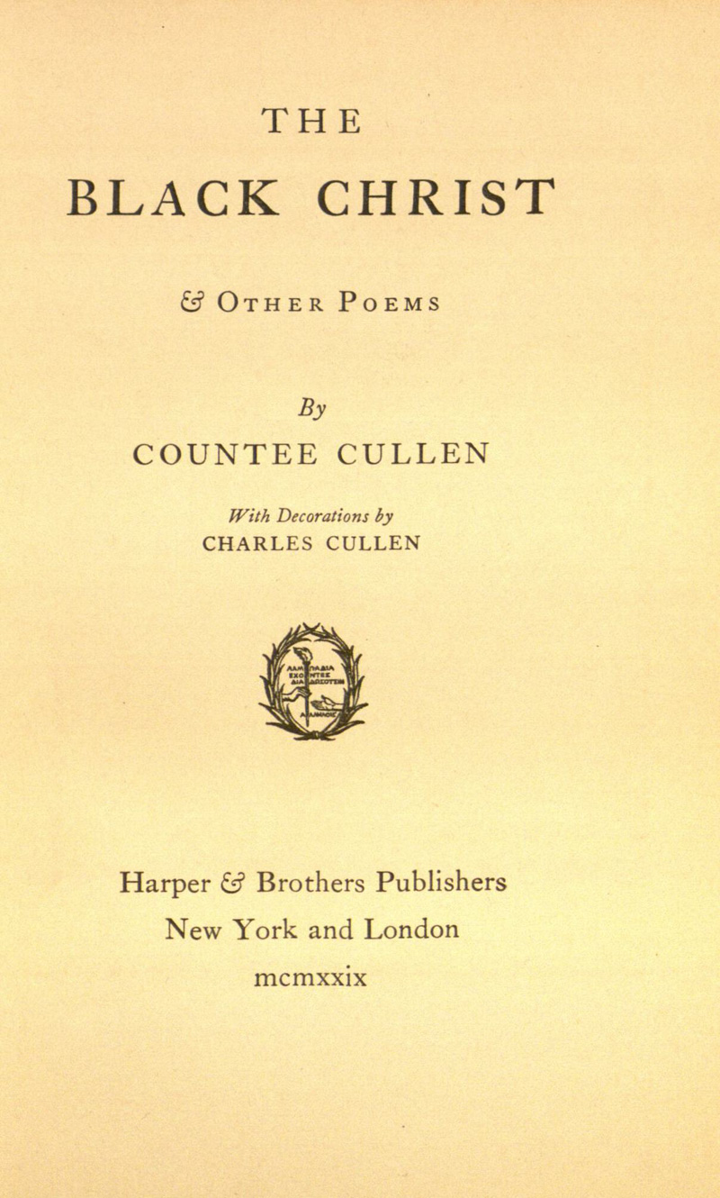 countee cullen poems Free collection of all countee cullen poems and biography see the best poems and poetry by countee cullen.