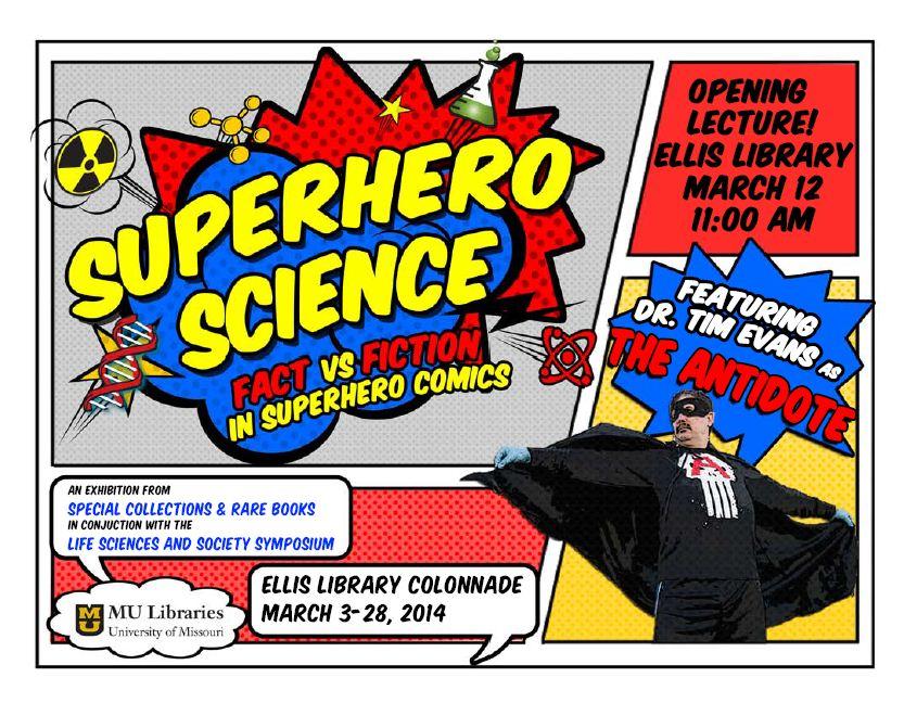 SuperHeroScience