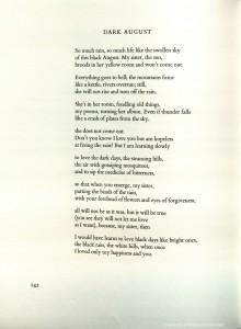 Derek Walcott poem