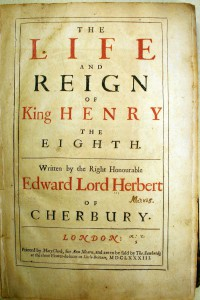 Life and Reign of Henry VIII