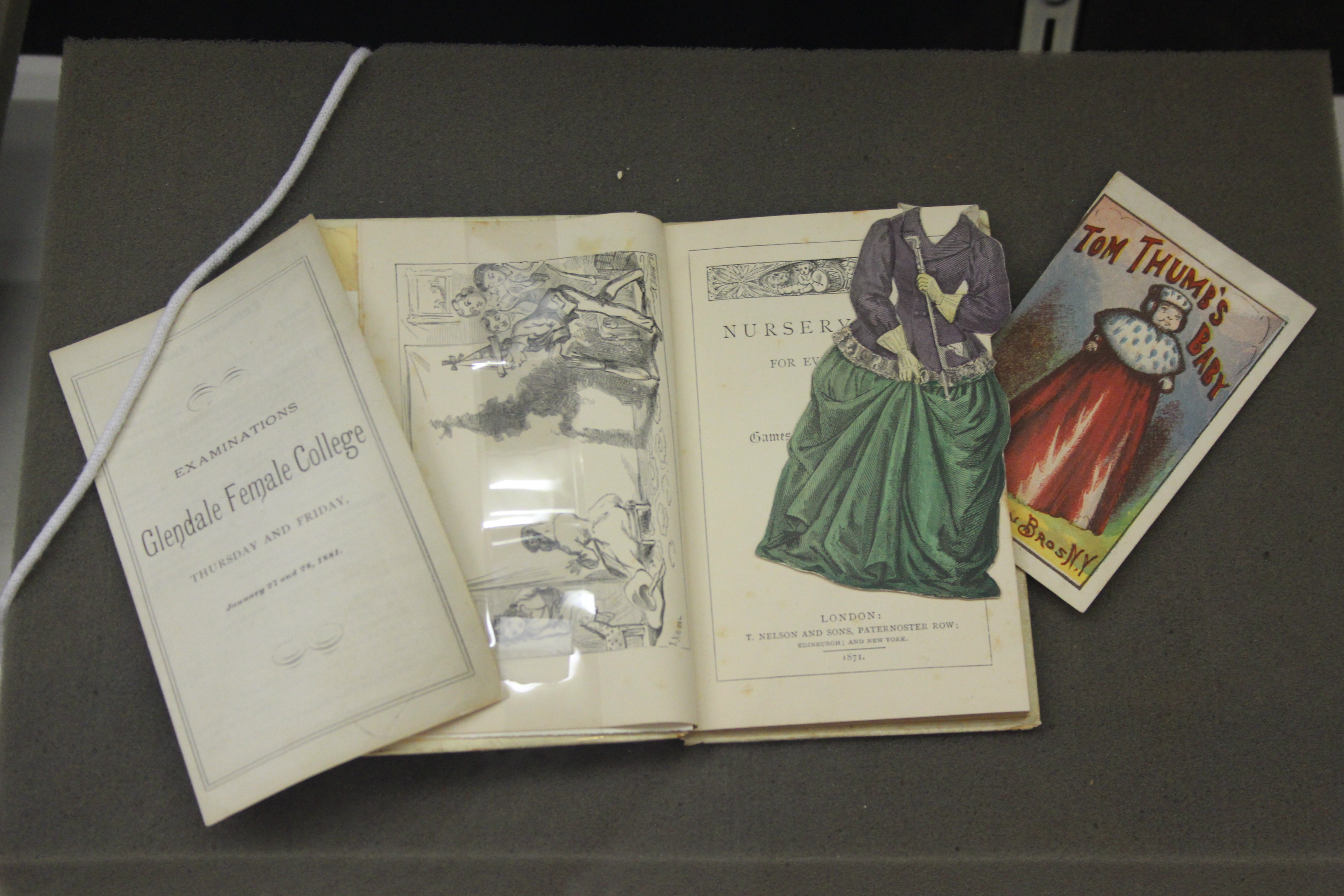 Books With Personality-On display in the Ellis Library Colonnade