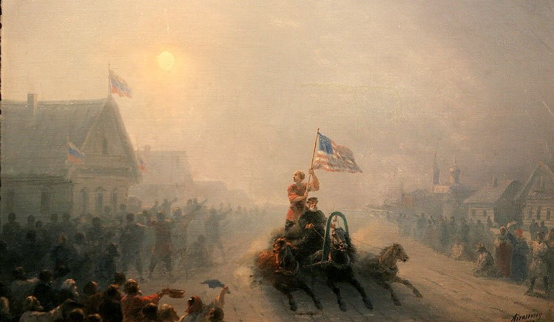 Aivazovsky, American help arrived
