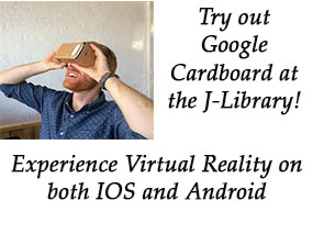 Try out Google Cardboard at the Journalism Library!