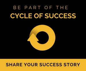Share your success story.