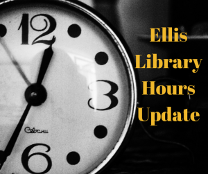 Ellis Library Open 24/5 After Labor Day