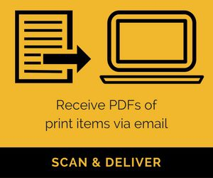 Save a Trip to the Library: Request Scan & Deliver