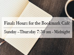 Bookmark Cafe Hours
