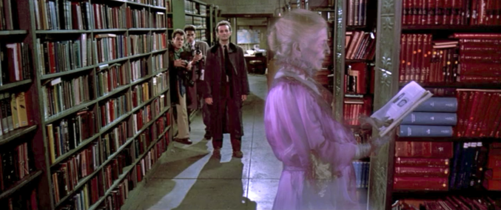 image from ghostbusters film 1984