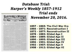 Trial Available for Harper's Weekly: 1957-1912