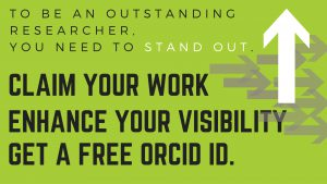 Stand Out with ORCID