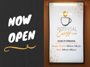 Potential Energy Café Now Open