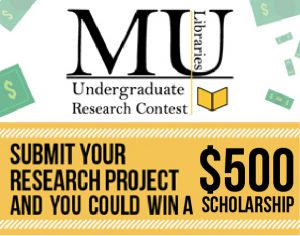 University Libraries Undergraduate Research Contest Call for Submissions