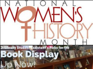 Women's History Book Display