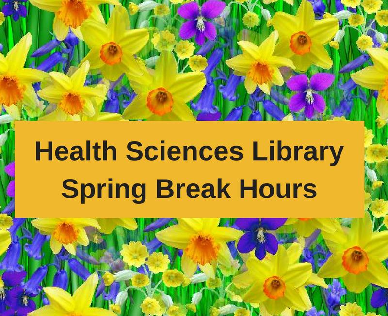 HSL Spring Break Hours