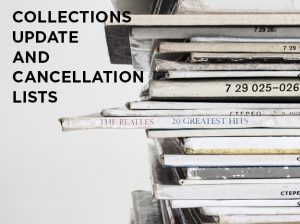 Collections Budget Update with Cancellation Lists