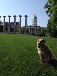 Trixie at Columns