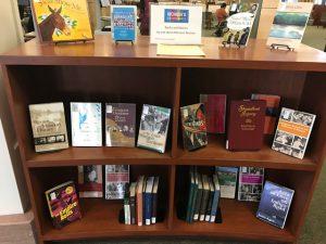 Missouri Women Books and Movies Display