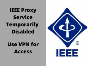 IEEE Proxy Service Disabled