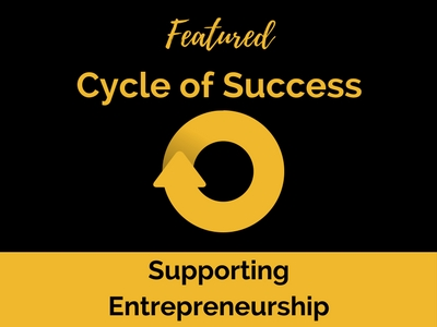 Cycle of Success: Gwen Gray, Kate Anderson, and Supporting Entrepreneurship