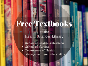 Spring 2018 Textbooks at the Health Sciences Library