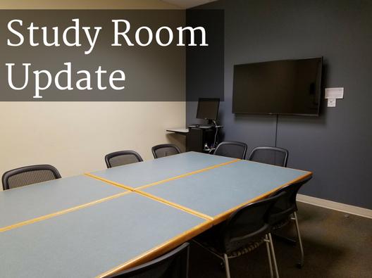 ELTC Study Room Update