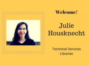 Welcome to Julie Housknecht