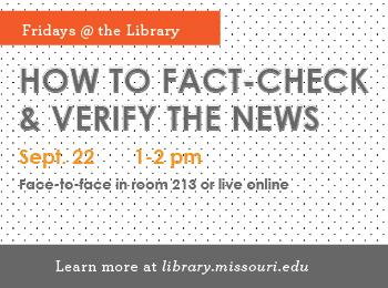 How to Fact-Check & Verify the News