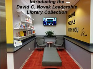 David C. Novak Leadership Library Collection and Space
