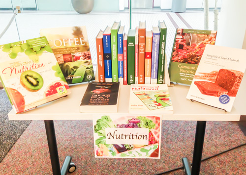 Health Sciences Library New Book Display: Nutrition