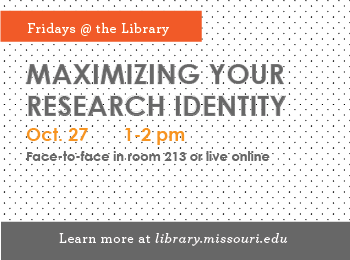 Fridays @ the Library: Maximizing Your Research Identity