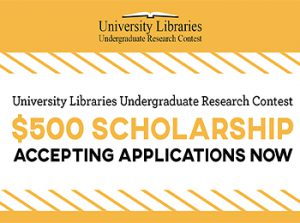 We're Looking for the Best Undergraduate Research