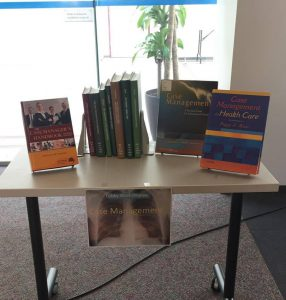 New Health Sciences Library Book Display: Case Management