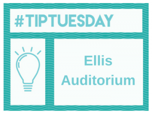 #TipTuesday: Ellis Auditorium (Room 21)