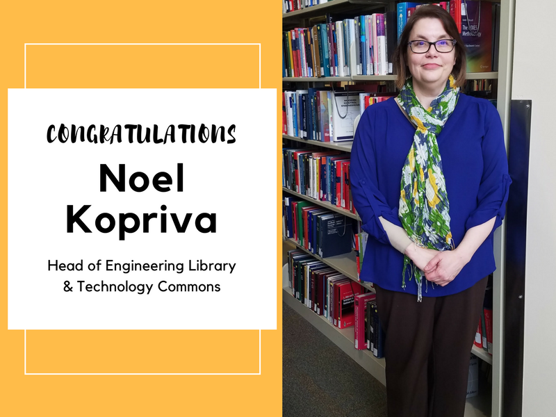 Congratulations Noel Kopriva