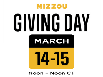 Mizzou Giving Day, March 14-15