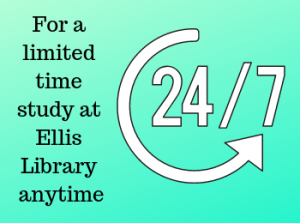 Ellis Library Extended Hours for Finals
