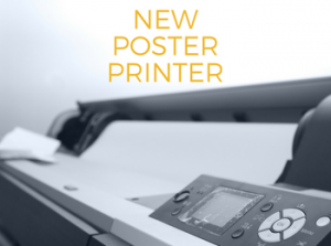 Higher-Quality Poster Printer Now Available