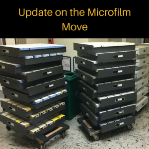 Changes to the microfilm collections